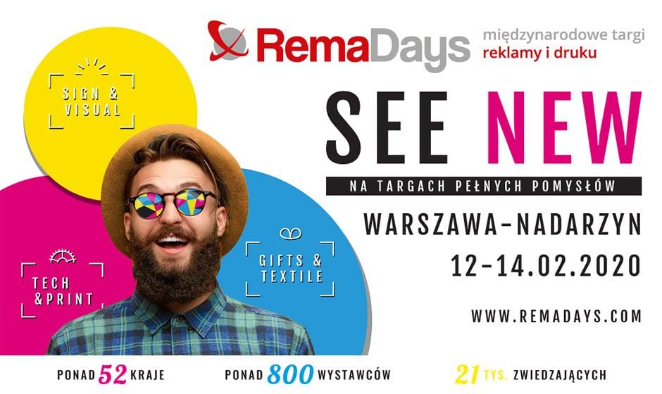 Remadays Warsaw 2020. Nadarzyn February 12-14. 1